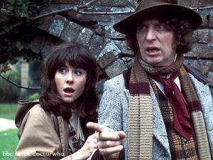 Sarah Jane in the original Doctor Who