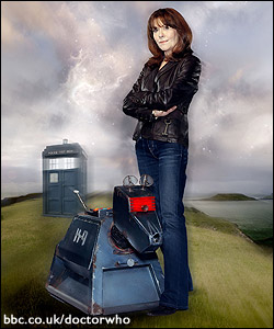 Sarah Jane and K-9 in \