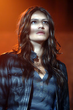 Genevieve Cortese as Kristy/the new Ruby.  Courtesy Sergei Bachlakov/The CW