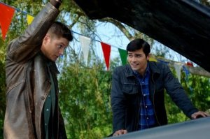 Dean helps a young John pick out the Impala.