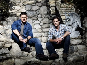 Supernatural - Season 4 - Jensen Ackles as Dean, Jared Padalecki as Sam courtesy Brian Bowen Smith/Warner Bros. Television Entertainment