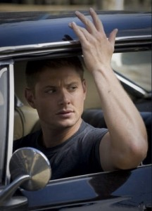 Dean's so scared, he'd rather wait in the car.