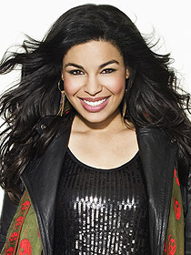 "Season 6 winner Jordin Sparks returns to the Idol stage to sing ""Battlefield"""